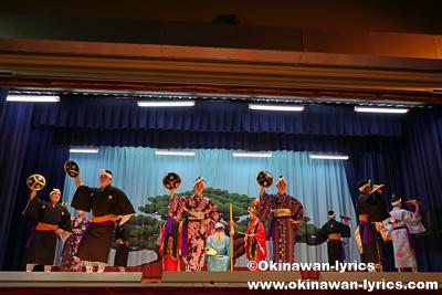 総踊り@名護市の数久田区豊年祭