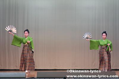 秋の踊り@名護市の数久田区豊年祭