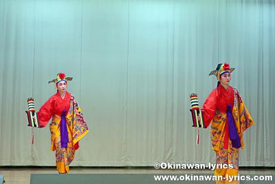 綛かけ@名護市の数久田区豊年祭
