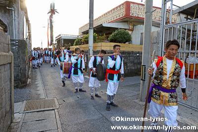 道ジュネー@名護市の数久田区豊年祭