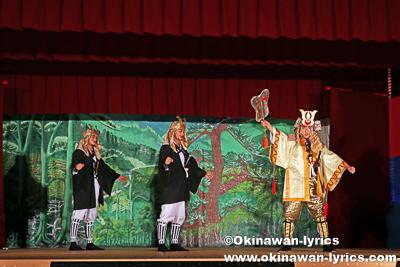組踊「久志の若按司」@恩納村瀬良垣の豊年祭