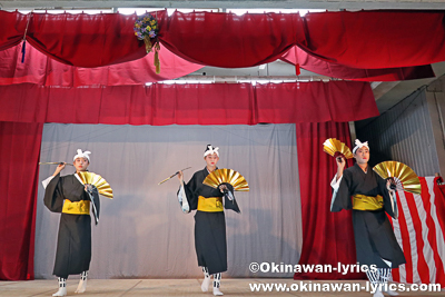クルク節@今帰仁村の謝名区豊年祭
