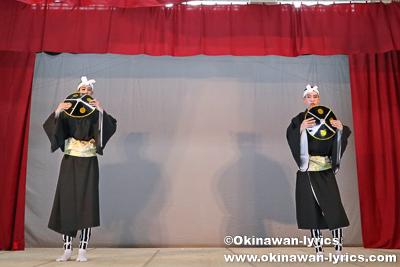 サンスルー@今帰仁村の謝名区豊年祭