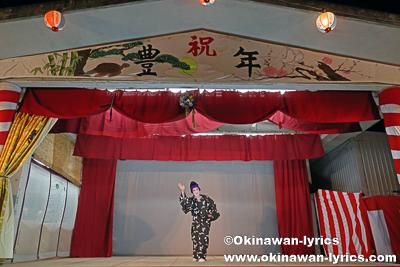 浜千鳥@今帰仁村の謝名区豊年祭