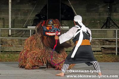 中城村津覇の獅子舞@第34回全島獅子舞フェスティバル