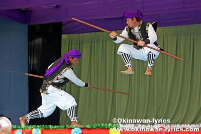 御祓い棒@令和元年度 伊計島招豊年祭