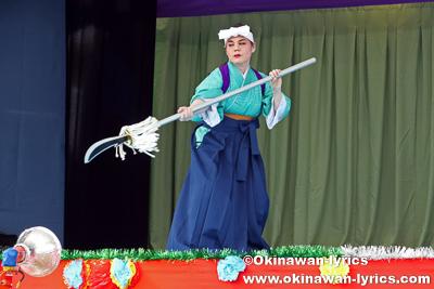 薙刀@令和元年度 伊計島招豊年祭