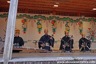 琉球古典音楽@首里城公園「新春の宴2020」