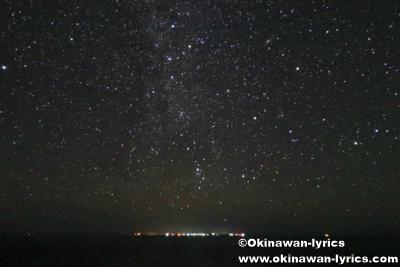 与論島と星空@辺戸岬