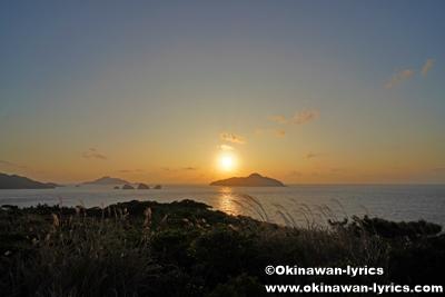 神の浜園地(ウナジノサチ展望台)@座間味島